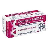 Cetirizin HEXAL bei Allergien, 100 St. Filmtabletten