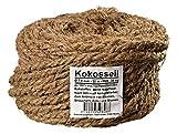 Humusziegel - Kokosseil 7 mm - Baumanbinder aus Kokosfaser - ungefärbte Naturfaser - 50 m