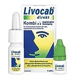 Livocab® direkt Kombi   Augentropfen (4 ml) und Nasenspray (5 ml)   Akuthilfe bei Allergie   Wirkungsvoll ab der 1. Anwendung