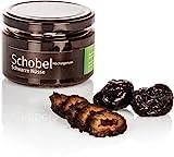 Eingelegte Schwarze Nüsse - Walnüsse nach altem Rezept - in einen süßen Kräutersirup eingelegte Schwarze Nüsse